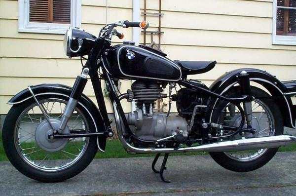 Early 1960's R 27 BMW 250 CC single